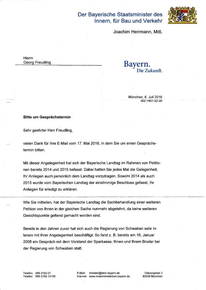 Antwort von Herrn Innenminister Joachim Herrmann-001