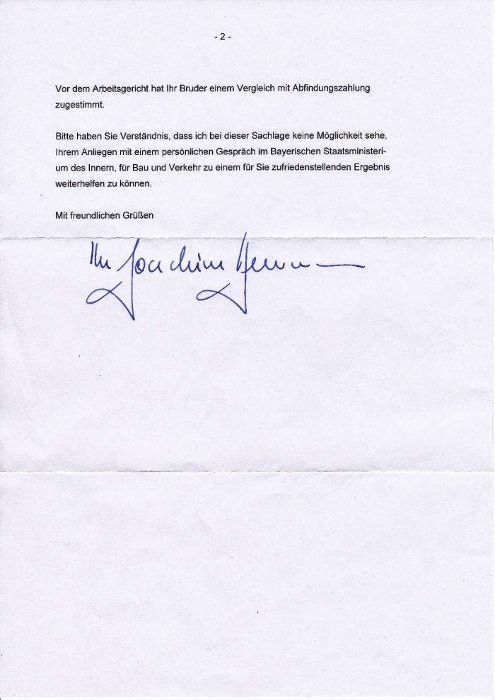 Antwort von Herrn Innenminister Joachim Herrmann-002