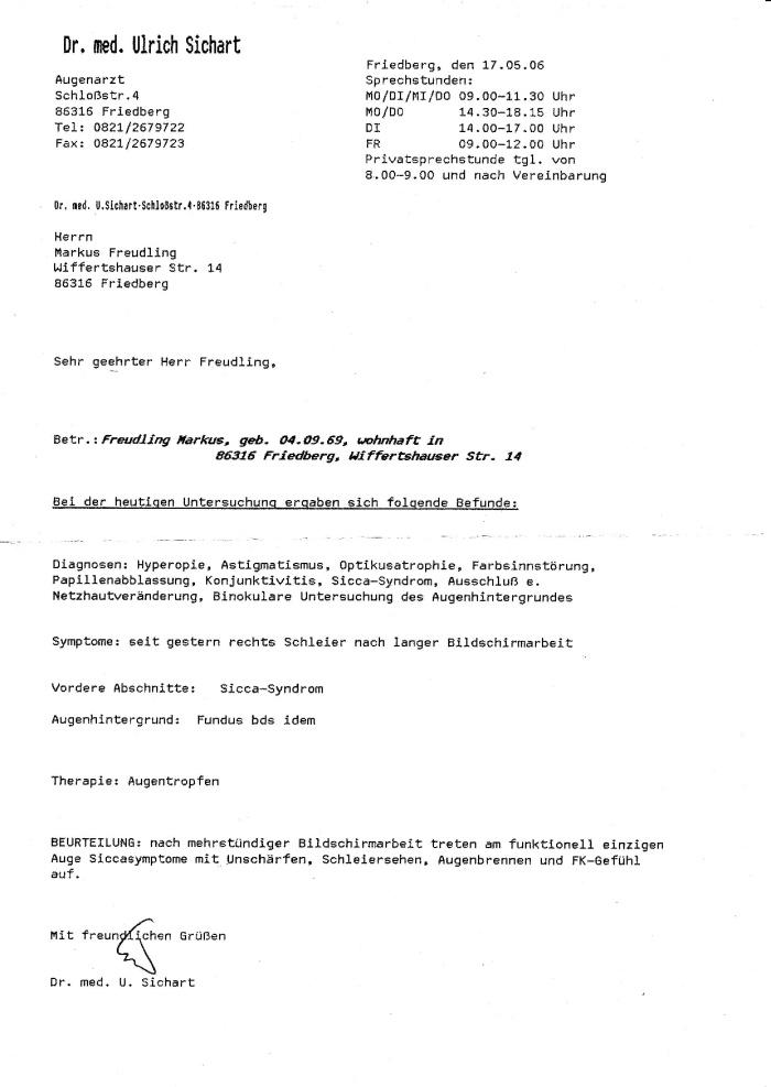 Dr. Sichart 052006