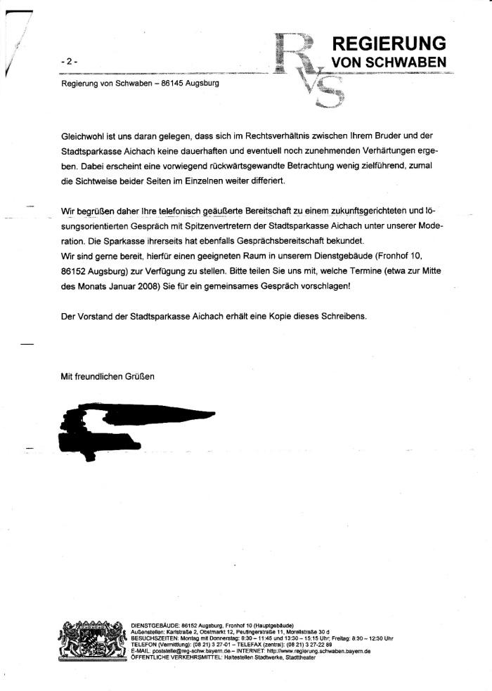 Schreiben der Reg. v. Schwaben v. 17.12.2007-002